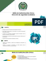 5. PRESENTACIÓN REDES DE PARTICIPACIÓN CÍVICA