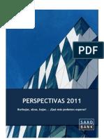 Saxo Bank - Perspectivas 2011