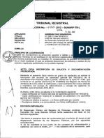 RESOLUCIÓN Nº 992-2012-SUNARP-TR-L asamblea de reconocimiento