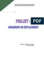 Proiect - Organiser Un Deplacement 100%