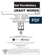 Restaurant Words, Remedia.pdf