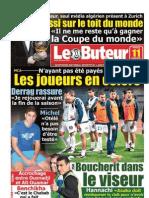 LE BUTEUR PDF du 11/01/2011