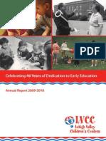 LVCC 2009-2010 Annual Report