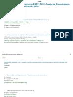 Evidencia 1 de Conocimiento RAP2 EV01 Prueba de Conocimiento Preguntas Sobre Planificación Del S
