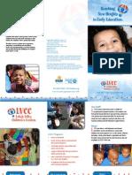 LVCC Preschool Brochure