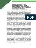 CUADRO COMPARATIVO, CONCEPTOS SOBRE SABERES CAMPESINOS Y PRODUCCIÓN AGRÍCOLA ANCESTRAL.pdf