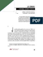 Jorge Fuentes Morrúa y Ezequiel Maldonado. Los errores. Literatura, filosofía y política..pdf