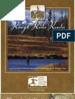 Spring 2008 -- Rough Rider Reader