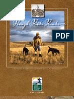Spring 2009 -- Rough Rider Reader
