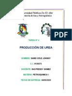 PRODUCCION DE UREA -TAREA-SAMO CRUZ JOHNNY.docx