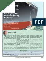 Self-Employed to Employee