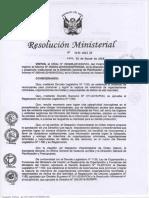 DIRECTIVA 006 Y RM 250 2016 MININTER SOBRE TRAMITE RECOMPENSAS2