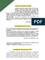 Constituição Francesa de 1791