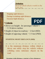 Sight Distances - FOR BSC.ppt
