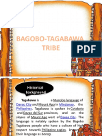 bagobo tagabawa tribe