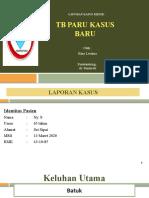 Lapsus Tb new case