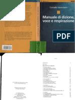 Manuale Di Dizione,Voce e Respitazione