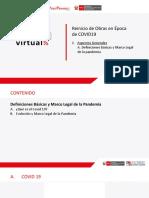 1. a. Definiciones Básicas y Marco Legal de La Pandemia