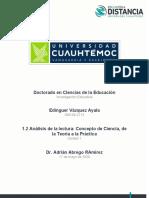 1.2 CONCEPTO DE CIENCIA, DE LA TEORÍA A LA PRÁCTICA_Vázquez_Edinguer