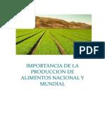 IMPORTANCIA DE LA PRODUCCION DE ALIMENTOS NACIONAL Y MUNDIAL.docx