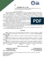 HCL nr.1 alegere presedinte de sedinta ianuarie - februarie.doc