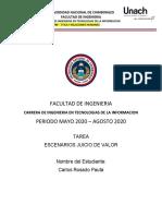 ROSADO_PAUTA_CARLOS_5ºA_ FACTORES - JUICIO DE VALOR