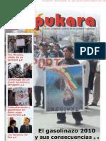 Periodico Pukara #53 Edición Gasolinazo