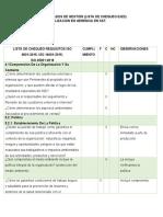 LISTA DE CHEQUEO-SIG-EJE 3