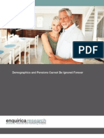 Enquirica Research - Demographics and Pensions Cannot be Ignored Forever