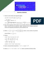 Lista - Expressoes algebricas e Produtos-editado.pdf