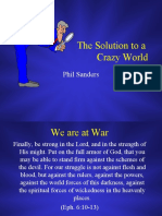 Solutions to a Crazy World.ppt