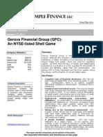 Gerova Financial Group