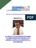 Debate Contemporáneo sobre el Marketing Político en América Latina