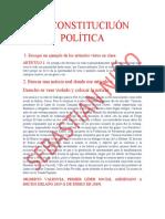 LA CONSTITUCIUÓN POLÍTICA