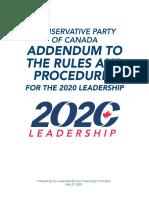 Conservative Leadership 2020