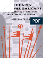John V. A. Fine - The Early Medieval Balkans_ A Critical Survey from the Sixth to the Late Twelfth Century (1991, University of Michigan Press).pdf
