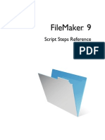 Fmp9 Scripts Reference