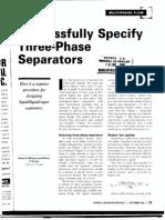 Three Phase Separators