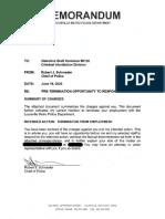 Brett Hankison Termination Letter