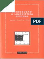 Introdução à Linguística Textual