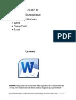 Chap III-Bureautique1.pdf