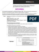 Escuelas Normales Públicas Edomex 2020-2021