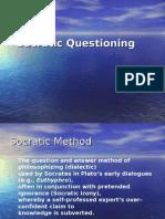 Questionign - Socratic Questioning - Notes
