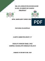 POSTURAS FILOSÓFICAS 2.docx