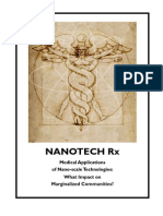 Nanotech Rx-Medical applications of Nano-scale technologies