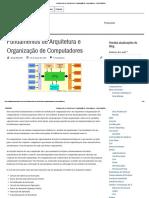 Fundamentos de Arquitetura e Organização de Computadores - Diego Macêdo