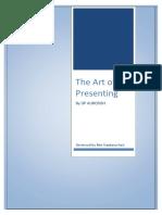 The Art of Presenting   Aurosish.pdf