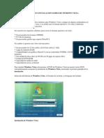 Formateo e Instalacion Limpia de Windows Vista