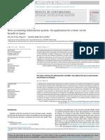 Revista de Contabilidad Volume issue 2017 [doi 10.1016_j.rcsar.2017.07.002] Peña-Miguel, Noemí; De La Peña, Joseba Iñaki -- New accounting information system- An application for