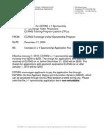 J1 Visa Application